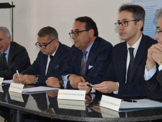 Da sinistra Nadotti, Paparelli, Campagna, Standoli, Mezzasoma