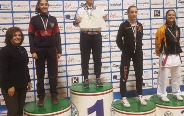 Anita Pazzaglia è bronzo agli Assoluti Juniores Kumite. L'atleta della Karate Tonic entra nella storia dello sport ternano.