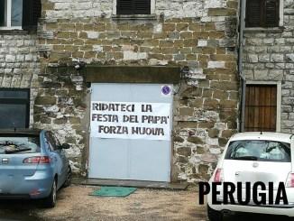 Ridateci la festa del papà, Forza Nuova in tutta Italia