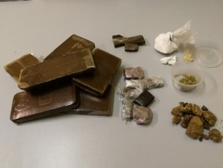 Hashish, cocaina e marjuana sequestrata a Terni, una persona arrestata