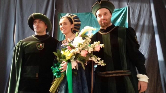 Costanza Bianchi è la prima dama di Porta Eburnea, Perugia 1416
