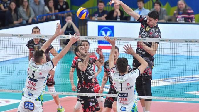 Block Devils a Trento, Sir Safety Conad a caccia della finale scudetto