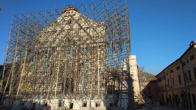 La Basilica di Norcia avrà un volto antico e un'anima moderna