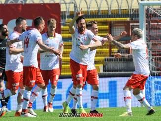Il Perugia perde il derby contro la Ternana, 3 a 2 per le Fere