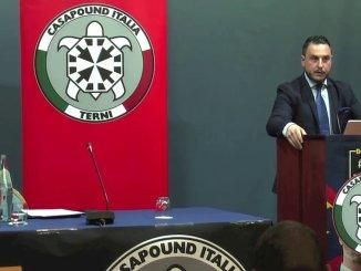 Piergiorgio Bonomi candidato sindaco di CasaPound Italia a Terni