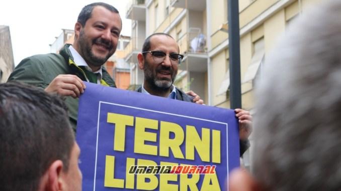 Matteo Salvini ritorna a Terni, mercoledì 6 febbraio incontra i cittadini