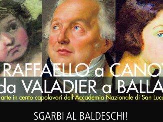 Da Raffaello a Canova, da Valadier a Balla, Vittorio Sgarbi a Perugia