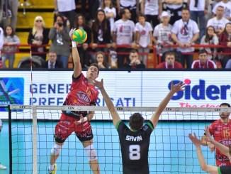 Volley, Sir Colussi, per il sogno Final Four, con una stella in più a guidarci in cielo