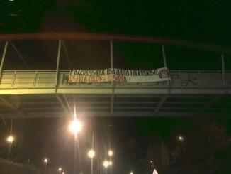 CasaPound Perugia, striscioni in cento città contro la guerra in Siria
