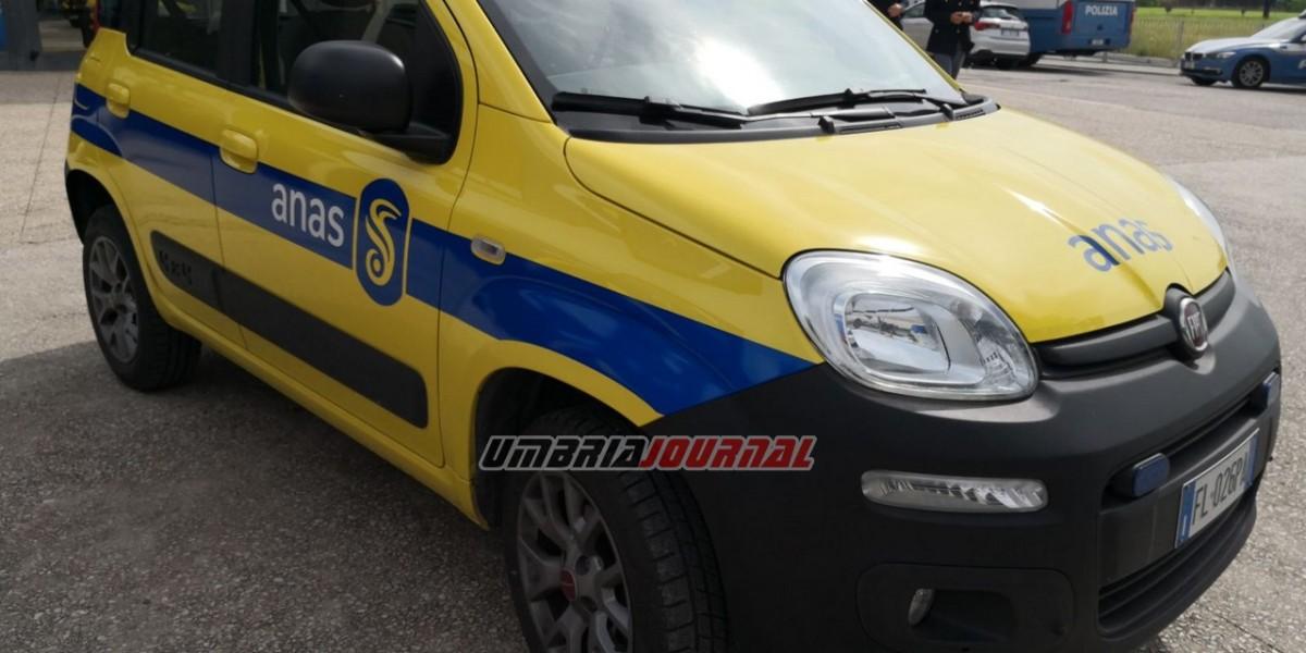 Incidente sulla Flaminia a Foligno, coinvolti due mezzi pesanti e un furgone