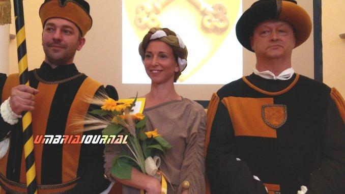 Emanuela Varasano è la prima dama eletta dai rionali di Porta San Pietro