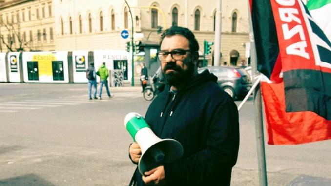 Atto squadristico di matrice fascista, Valerio Arenare, Sinlai, tuona contro sindacati