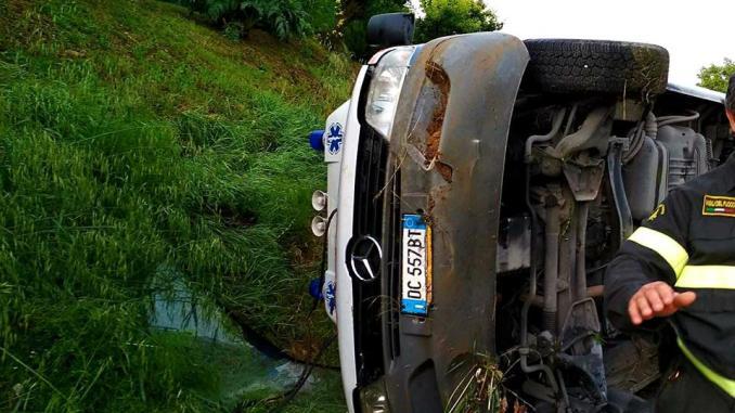 Incidente ambulanza tra Bosco e Colombella, Pd, strada senza manutenzione
