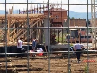Incidente sul lavoro al cantiere di Bastia Umbra, operaio cade, trasportato in ospedale