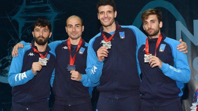 "Europei assoluti scherma ""novi sad 2018""Alessio Foconi medaglia d'argento"