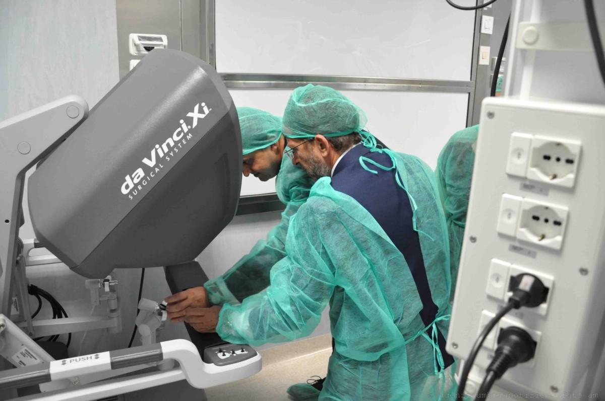 asportazione prostata con robot 3