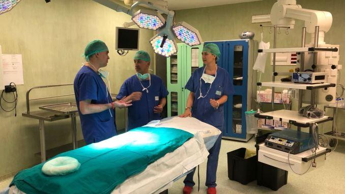 Intervento chirurgico al rene ospedale di Perugia salva bimbo di sei mesi