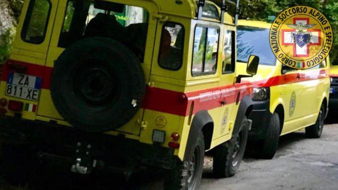 Scivola nelle Gole sul Nera, escursionista soccorsa da Sasu e 118