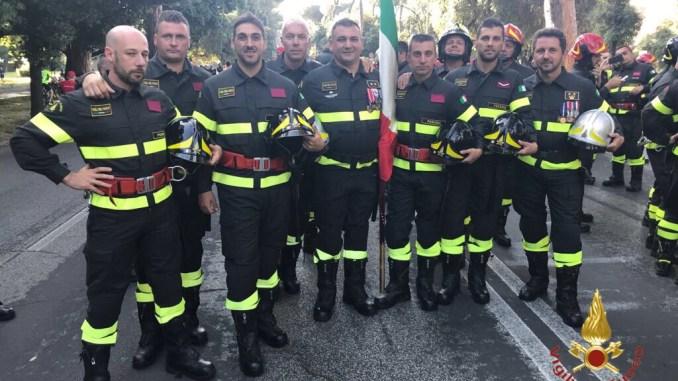 Vigili del Fuoco di Perugia e Terni oggi alla Parata di Roma e non solo