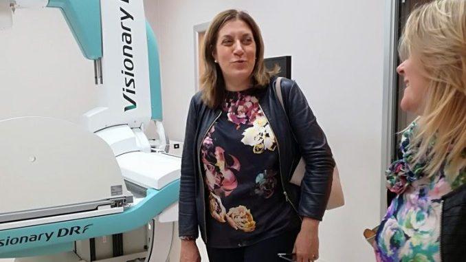 """Presidente Marini visita nuova clinica """"Porta Sole"""" a Monteluce"""
