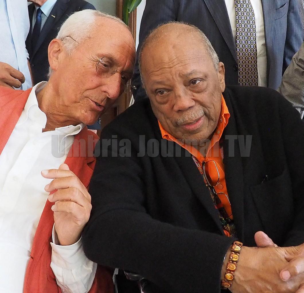 Umbria Jazz, Quincy Jones, ho tanti legami forti con la musica italiana FOTO