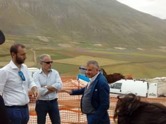 Delocalizzazioni attività economiche Castelluccio oggi l'inaugurazione