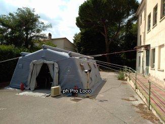 Disinnesco ordigno bellico a Cesi anche la Pro Loco dà il suo contributo