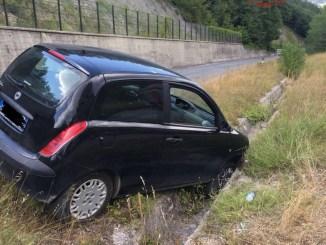 Incidente stradale sulla strada della Contessa, feriti marito e moglie