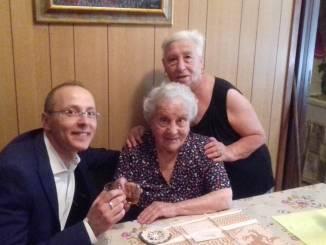 Evelina Del Convento di San Martino in Campo 102 anni portati splendidamente