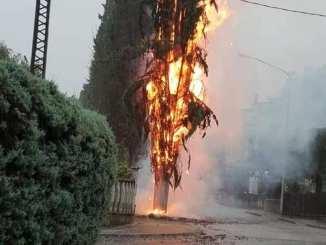 Nubifragio a Perugia allaga mezza città, danni anche in provincia