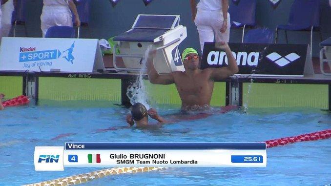 Nuoto internazionale, Giulio Brugnoni, da Perugia alle piscine degli Stati Uniti