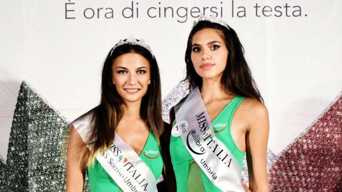 Miss Italia, a Bettona vinconoGaia Gattavecchi e Giorgia Gregori