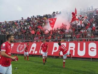 Calcio, serie B, il Perugia sconfitto per 2-1 dalla Salernitana