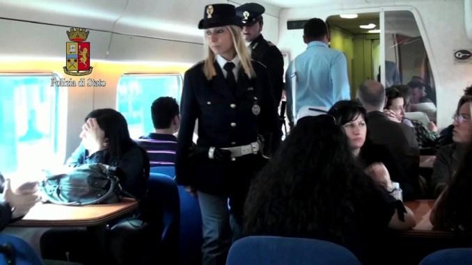 Polfer passa al setaccio le stazioni ferroviarie di Terni e Orvieto, 100 identificati
