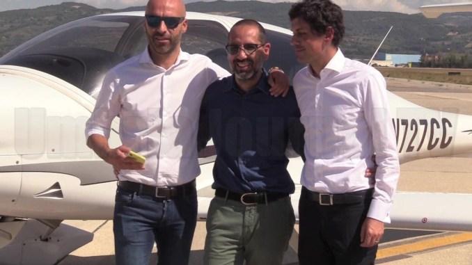 Nasce l'asse Terni-Perugia, sindaci Romizi e Latini in alta quota