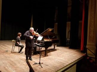 Ameria Festival Duo Nordio-Lovato e studenti entusiasti,Schubert,Beethoven e Mozart