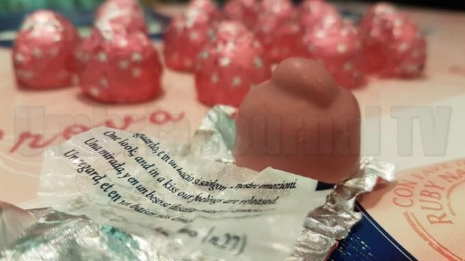 Nasce il Bacio Perugina rosa, completamente naturale, ma che bontà