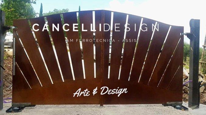 L'Arte della ruggine trasforma i cancelli delle case con Ferrotecnica