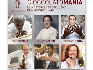 Eurochocolate svela i primi protagonisti di Cioccolatomania!