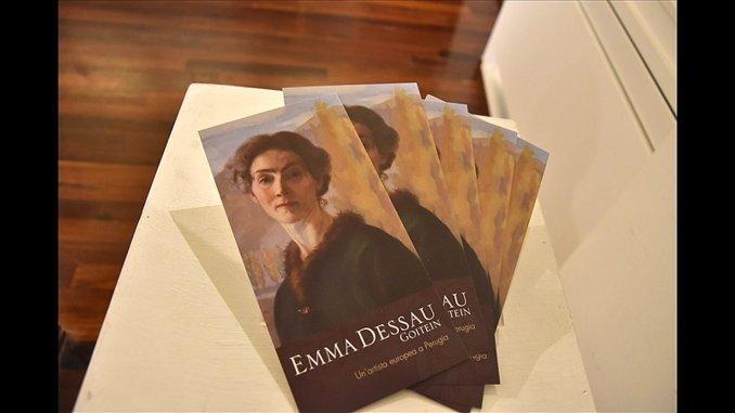 """Focus su Emma Dessau Goiten a Perugia """"Il pensiero sospeso"""""""