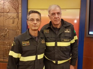Vigili del fuoco, volontari ed effettivi, interviene Zappia