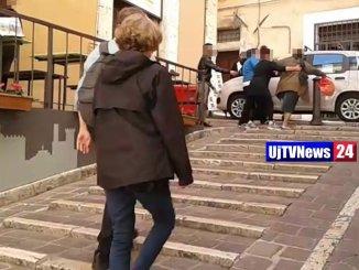 Titolari attività del centro di Perugia aggrediti da una donna