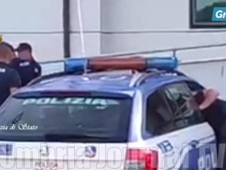 Foto e video dell'inseguimento e cattura dei rapinatori di Mancolfo San Venanzo
