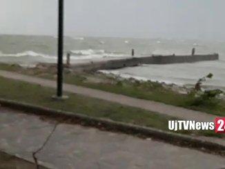 Maltempo in Umbria, pioggia e grandine in Altotevere