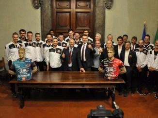 Sir Safety UmbriaVolley, presentata a Palazzo Donini la squadra