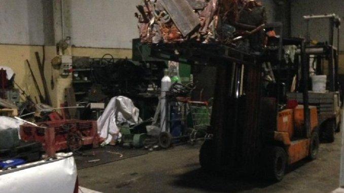 Vigilanza notturna Mission Group sventa furto all'autodemolizione fratelli Ciotti a Deruta