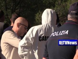 Sparatoria Ponte Felcino, un morto, proseguono indagini su banda furto tabaccheria FOTO E VIDEO