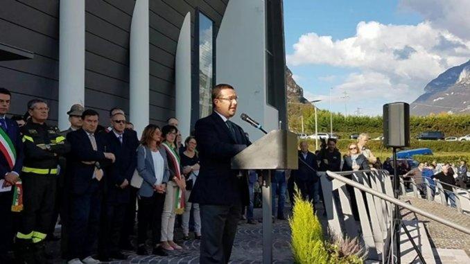 Stefano Candiani sottosegretario, disastro del Vajont, il dovere del ricordo