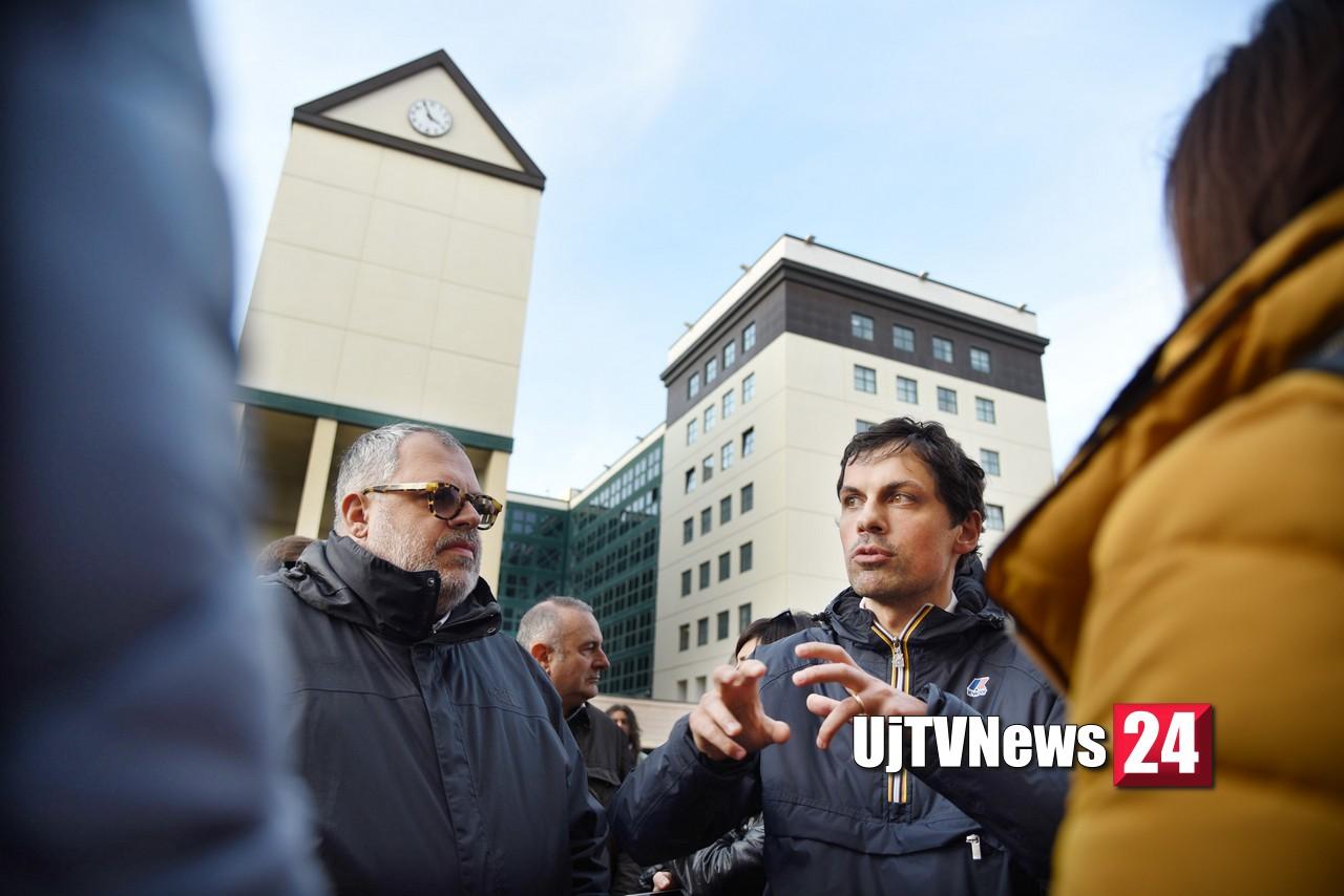 Passeggiata a Fontivegge con il sindaco, assessore e comitato cittadini FOTO