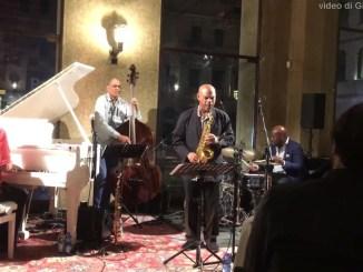 Wilsonian's Grain al Jazz Club Perugia, Steve Wilson, Uri Cane, Ulysses Owens jr e Ugonna Okegwo